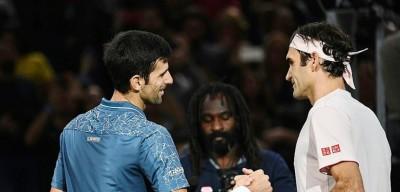 Djokovic Federer Bercy 2018