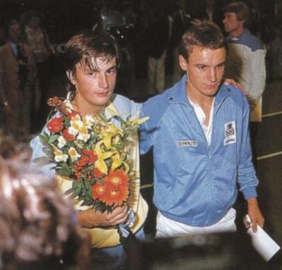 Leconte Wilander Stockholm 1982