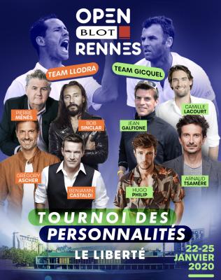 Open Rennes tournoi personnalités